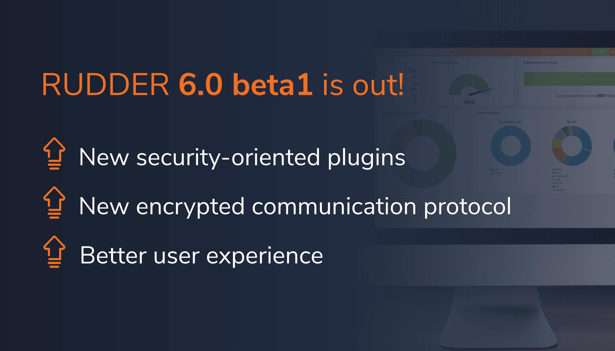 rudder-new-release-6-0-beta